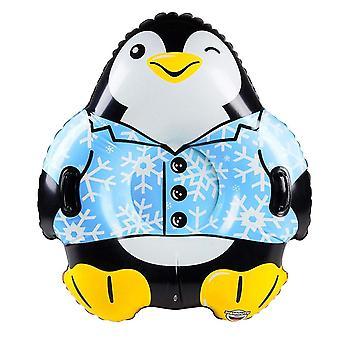 Grande bouche Inc pingouin géant Snow Tube luge traîneau traîneau hiver luge