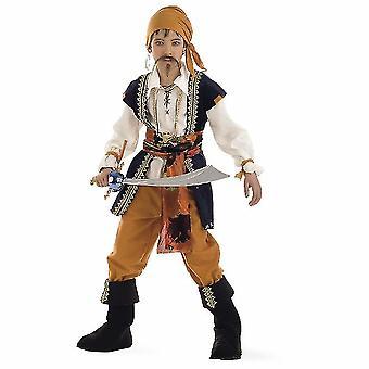 Pirate Buccaneer kind kostuum Käpitän heerser van de zeeën jongens kostuum