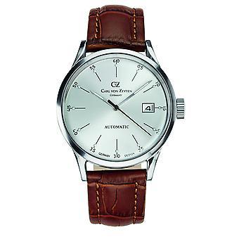 Carl of Zeyten men's watch wristwatch automatic Eschenz CVZ0002WH