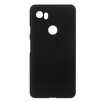 Google Pixel 2 XL Carcasa de goma-Negro
