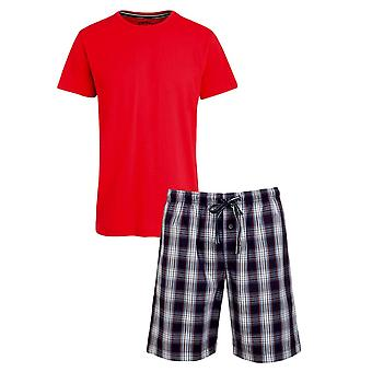 Jockey 1/2 Knit Pyjama Gift Set - Red
