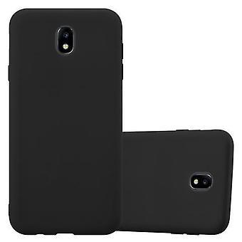 Cadorabo tilfelle for Samsung Galaxy J7 2017 tilfelle tilfelle dekselet - telefon etui laget av fleksibel TPU silikon - silikon etui beskyttende etui Ultra Slim Soft Back Cover Case Støtfanger