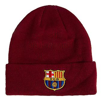 FC Barcelona Cuff Knitted Hat