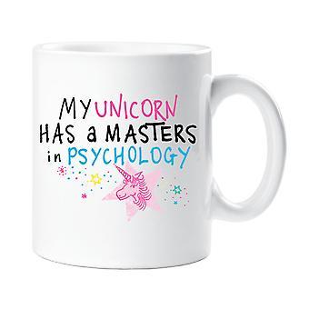 Mijn Eenhoorn heeft een Masters In de psychologie mok
