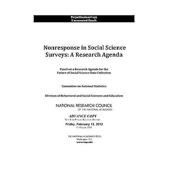 Dû à la non-réponse dans les enquêtes en sciences sociales - un programme de recherche de groupe d'experts sur