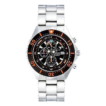 CHRIS BENZ - Diver watch - DEPTHMETER CHRONOGRAPH 300M - CB-C300-O-MB