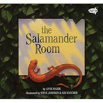 La sala Salamandra: Libélula libros edición (libro de lectura del arco iris)