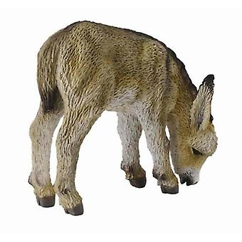 CollectA Donkey Foal (Grazing)
