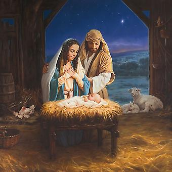 Holy Family Poster Print by Mark Missman