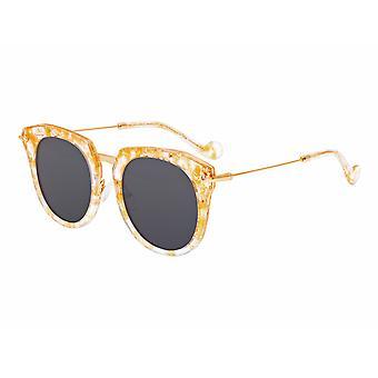 Bertha Aaliyah Polarized lunettes de soleil - Peach Tortoise/Black