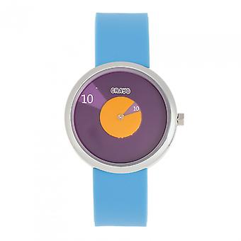 Crayo Pinwheel Unisex Watch - Light Blue