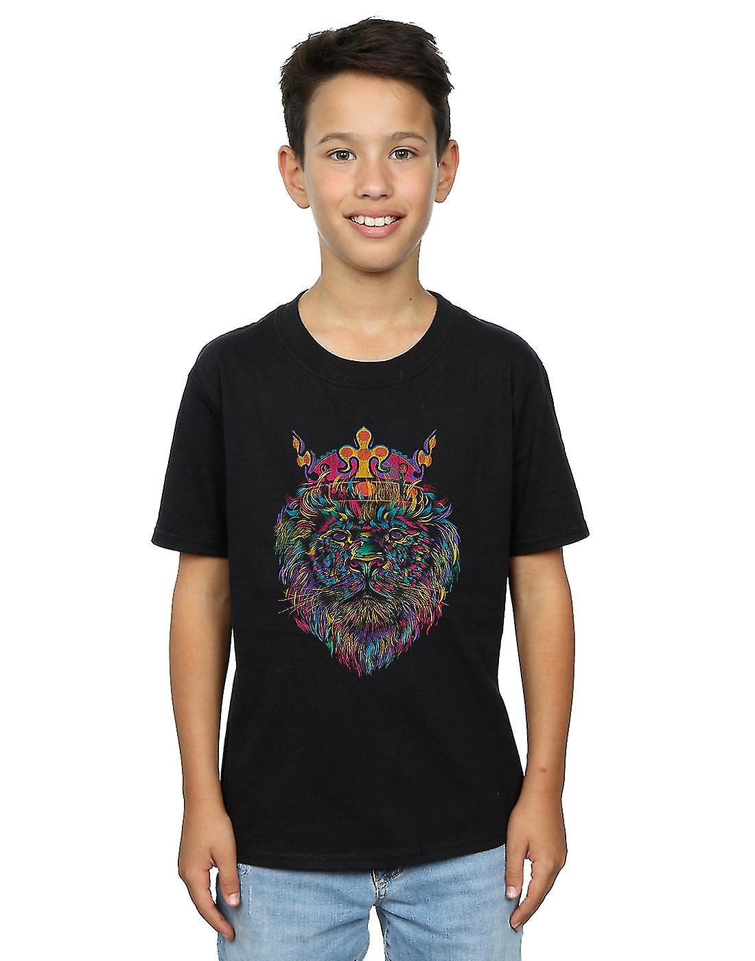Dan Dingeroz Boys Bright Lion T-Shirt