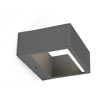 Faro - Alp mørk grå LED udendørs væg lys FARO74450