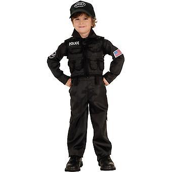Policeman Swat Child Costume
