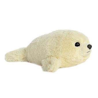 Aurora Mini Flopsies - Baby Harp Seal Soft Toy 20cm