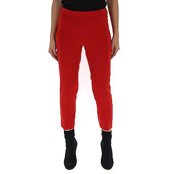 Theory I1009210xl8 Women's Red Acetate Pants