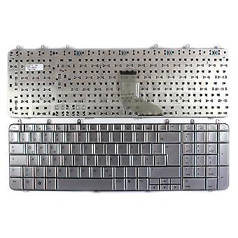 HP Pavilion DV7-1245EF Silver German Layout Replacement Laptop Keyboard