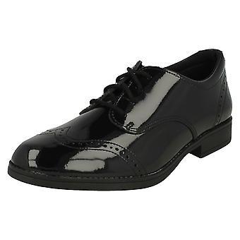 Clarks девочек зашнуровать школа обувь саамов ходьбы