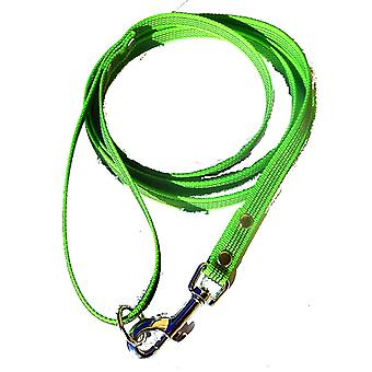 Super-Grip leash, lime green 15 mm wide