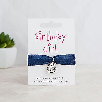 عيد ميلاد فتاة تمتد سوار