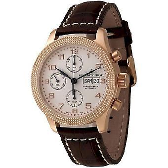 Zeno-Watch Herrenuhr NC Clou de Paris Chronograph Retro 11557TVDD-Pgr-f2
