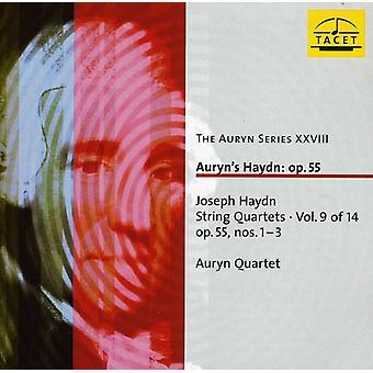 J. Haydn - Joseph Haydn: String Quartets, Vol. 9 of 14 Op. 55 Nos. 1-3 [CD] USA import