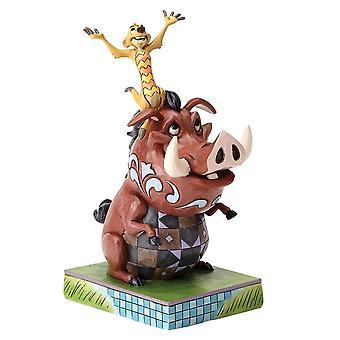The Lion King Timon and Pumbaa Carefree Cohorts Figurine