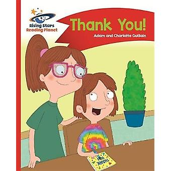 Reading Planet - Thank You - Red B - Comet Street Kids by Adam Guillai