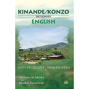Kinande/Konzo-English Dictionary by Ngesimo Mathe Mutaka - 9781592218