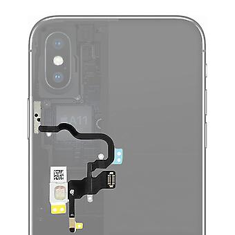 iPhone X Cover bouton marche/arrêt + flash + volume + microphone