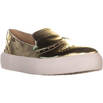 Franco Sarto Nelson Slip On Sneakers, Gold