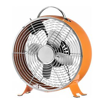 Fusion Living Brillante Naranja Funky Retro Desk Fan