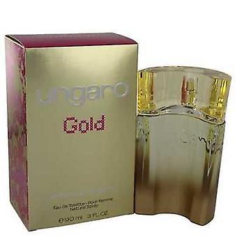 Ungaro Gold By Ungaro Eau De Toilette Spray 3 Oz (women) V728-541038