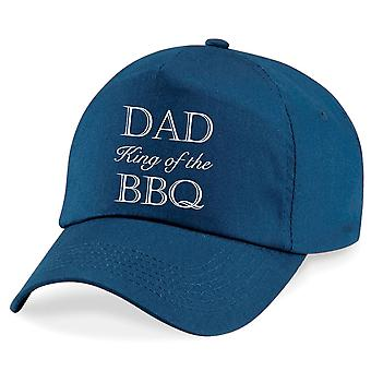 Dad King Of The BBQ Cap