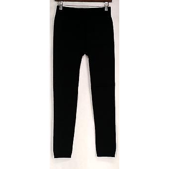 Slim 'N Lift Leggings Pull-on w/ Croco Print Black  S420345