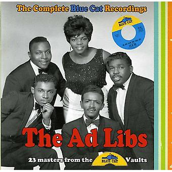 AD Libs - AD Libs: Complete Blue Cat Recordings [CD] USA import