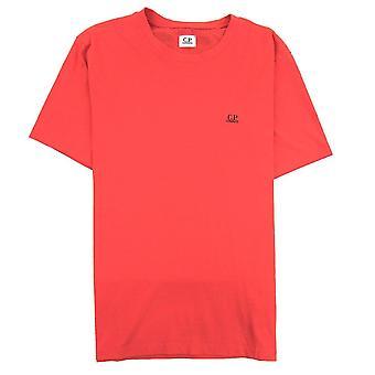 CP bedrijf reverse Goggle print T-shirt rood 547