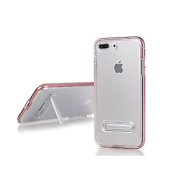 TPU Case with telephone stand + 2pcs screen Protector iPhone 6 +