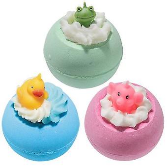 Frog Duck and Elephant Gift Set of Three Bath Treats - Frog