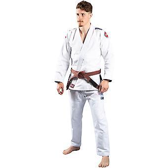 Atleta Scramble 4 Midweight 450gsm Brasiliana Jiu-Jitsu Gi - Bianco