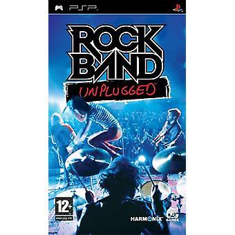 Rock band Unplugged (PSP)-fabriken förseglad