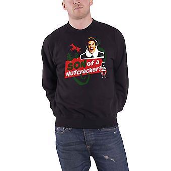 Elf Christmas jumper Sweatshirt Son Of A Nutcracker Official Mens Black
