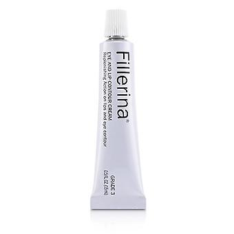 Fillerina Eye & Lip Contour Cream - Grade 3 - 15ml/0.5oz