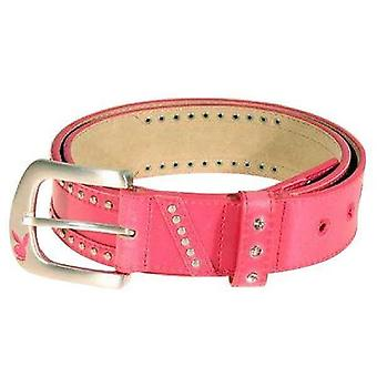 Bälte Playboy Pink Genuine Leather With Buckle Bt0074