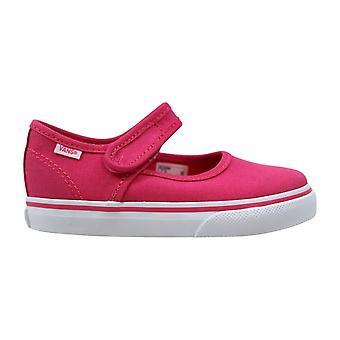 Vans Mary Jane caliente rosa rosa caliente / verdadero blanco VN0A3MTX80A niño