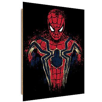 Painel Deco, aranha invicto