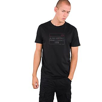 Alpha Industries Men's T-Shirt 2Tone Rubber