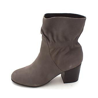 Adam Tucker Womens saige8 Leather Closed Toe Mid-Calf Fashion Boots