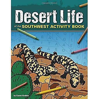 Pustyni życia aktywność południowo-zachodniej części książki (kolor i Dowiedz się więcej)