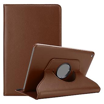 Cadorabo Case for Apple iPad AIR 2 2014 / iPad AIR 2013 Case Cover - Book Style Protective Case with Car Wake Up with Stand Function and Rubber Strap Closure